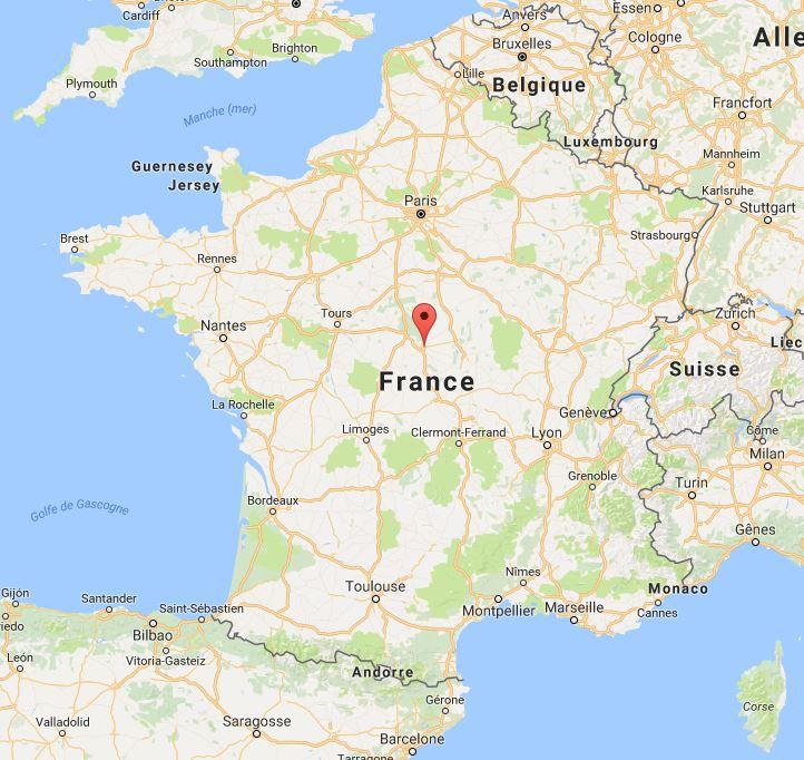 Où se trouve la Cathédrale de Bourges (Cher 18)