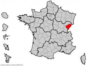 Où se trouve le Doubs en France ? Département 25
