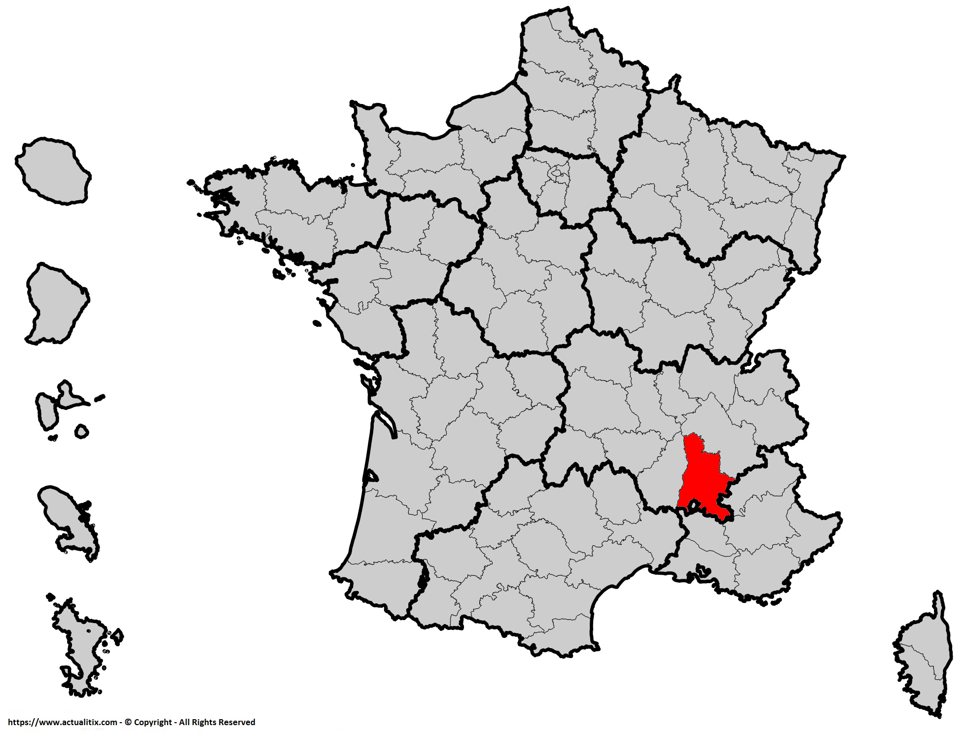 Où se trouve la Drôme en France ? Département 26