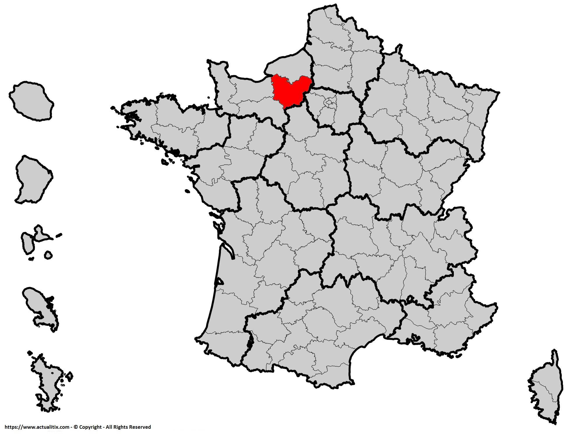 Où se trouve l'Eure en France ? Département 27