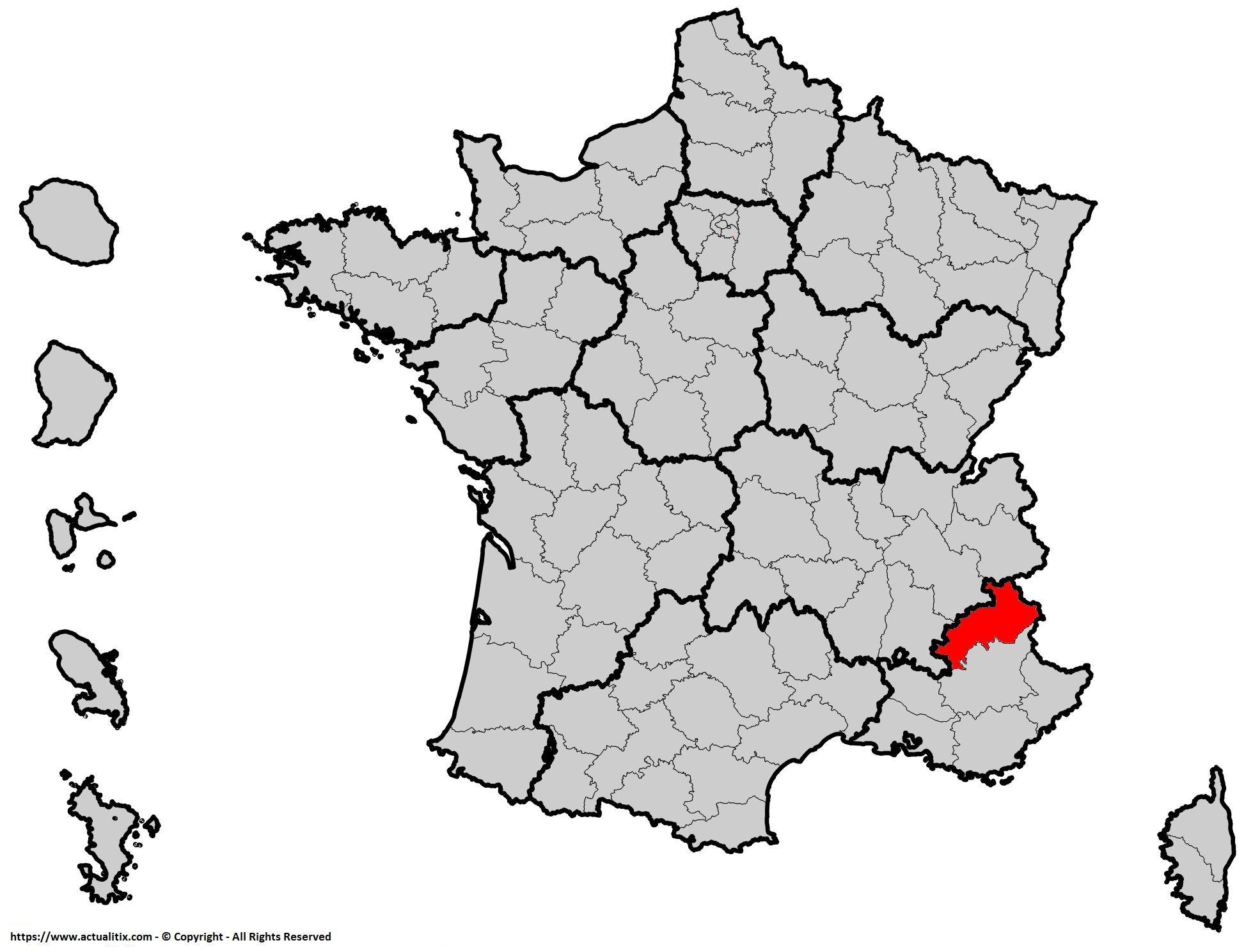 Où se trouve les Hautes-Alpes en France ? Département 04