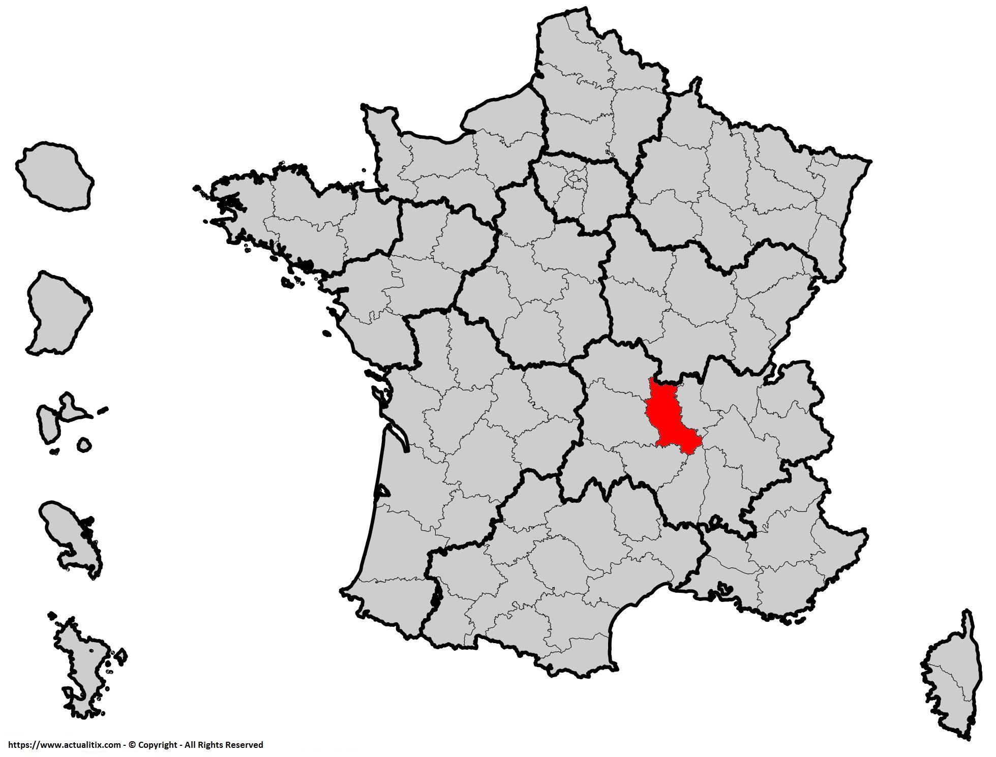 Où se trouve la Loire en France ? Département 42