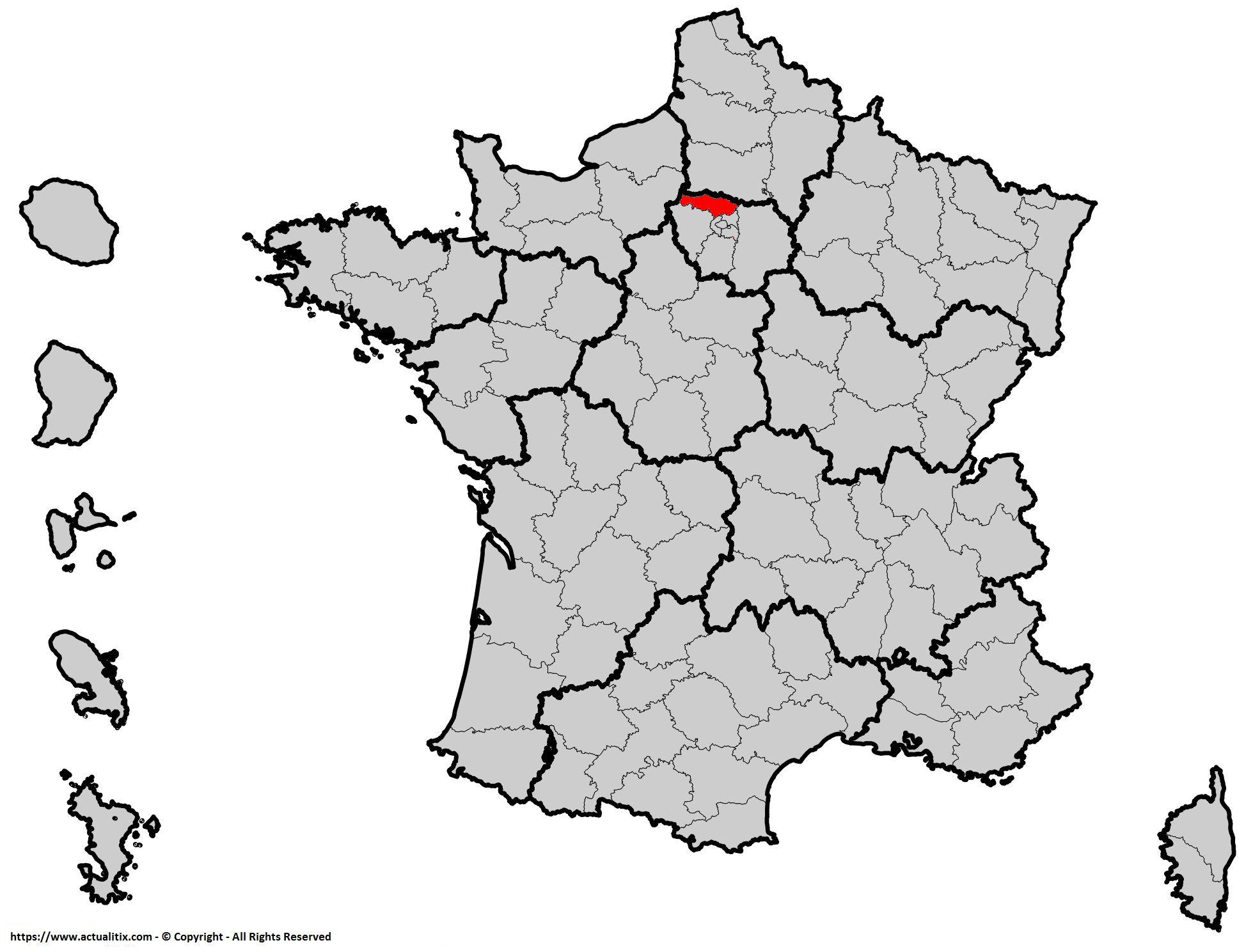 Où se trouve le Val-d'Oise ? Département 95