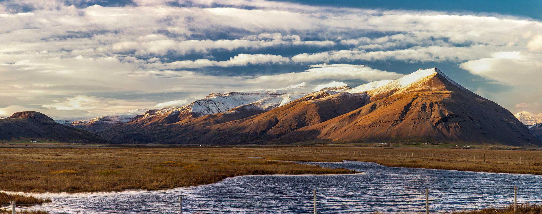 Panorama de l'Islande