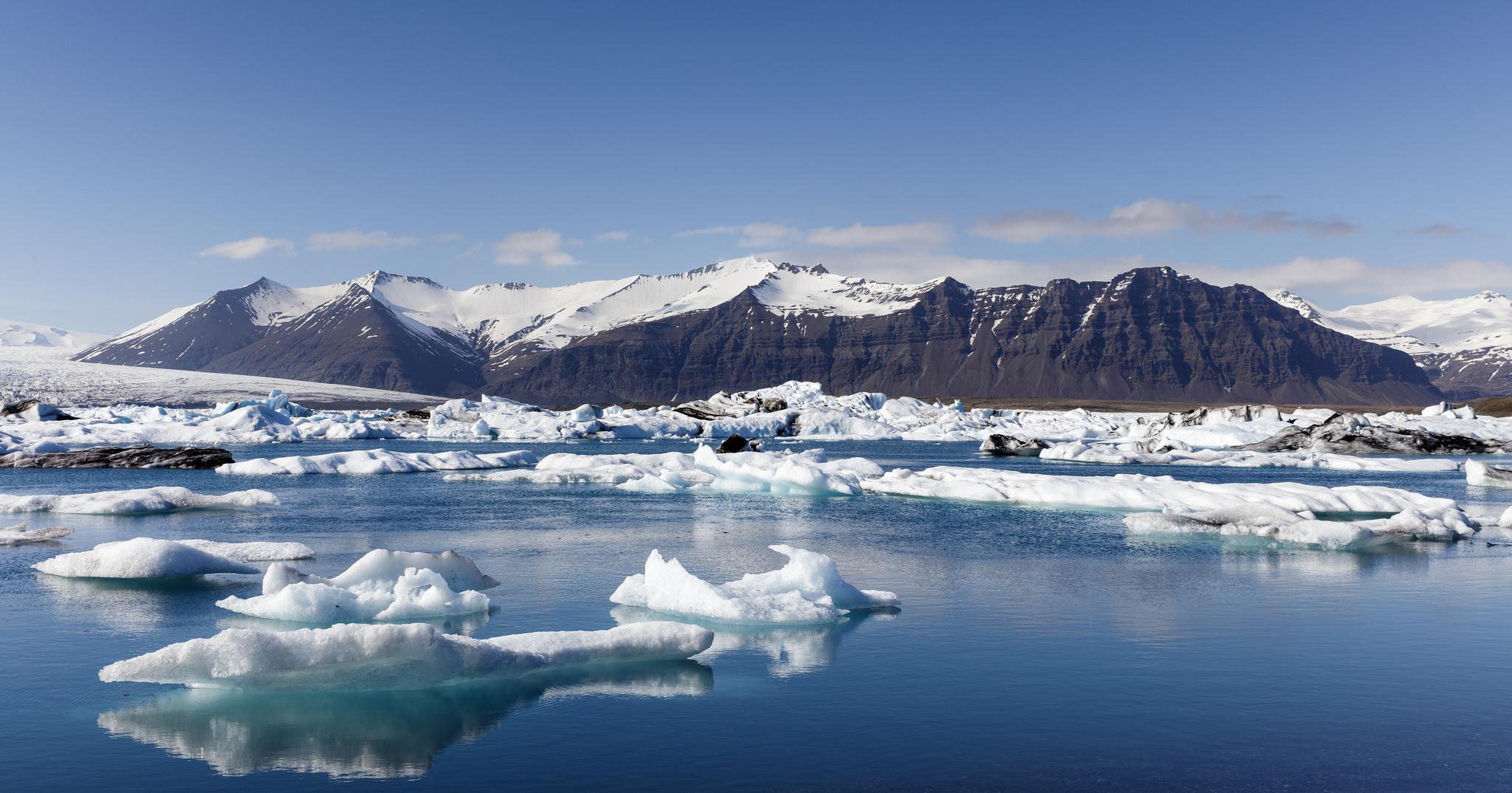 Jökulsárlón - Plage de glace (glacier) en Islande (paysages)