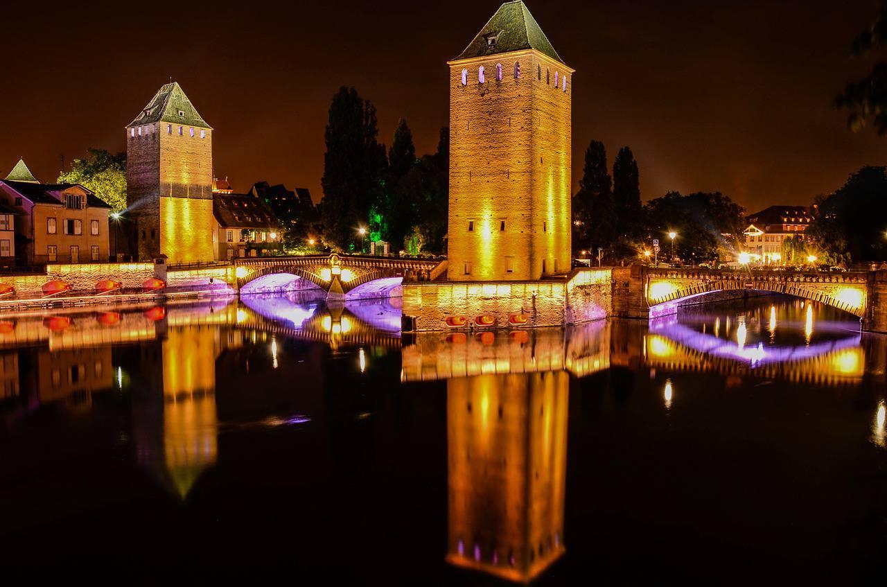 Pont couvert à Strasbourg