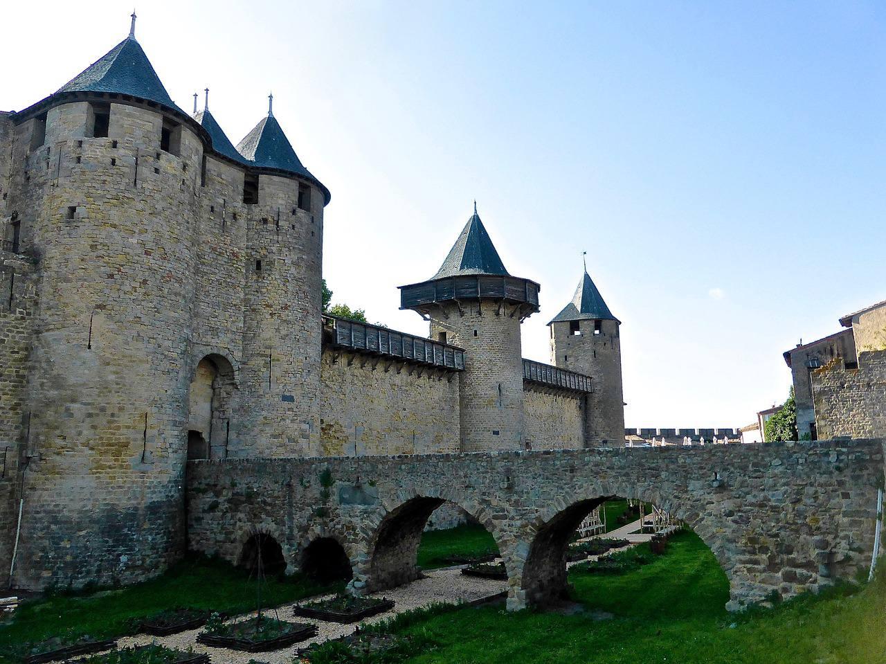 cit de carcassonne ch teau rempart basilique patrimoine unesco. Black Bedroom Furniture Sets. Home Design Ideas