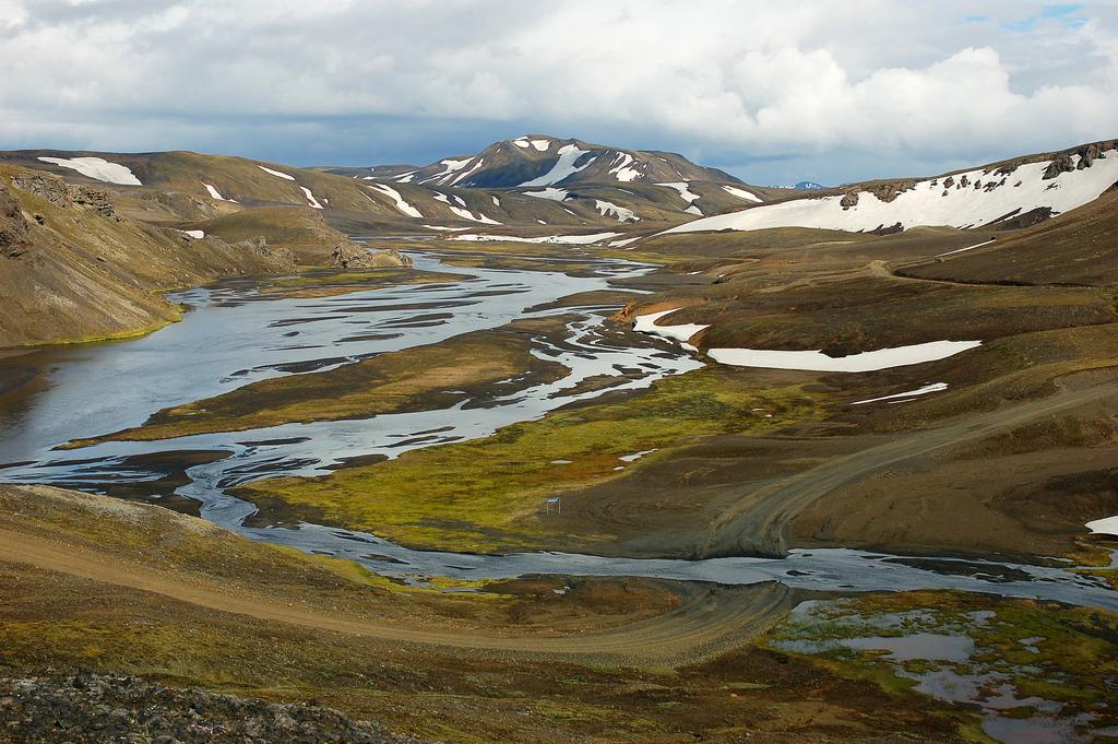 Route F208 en Islande