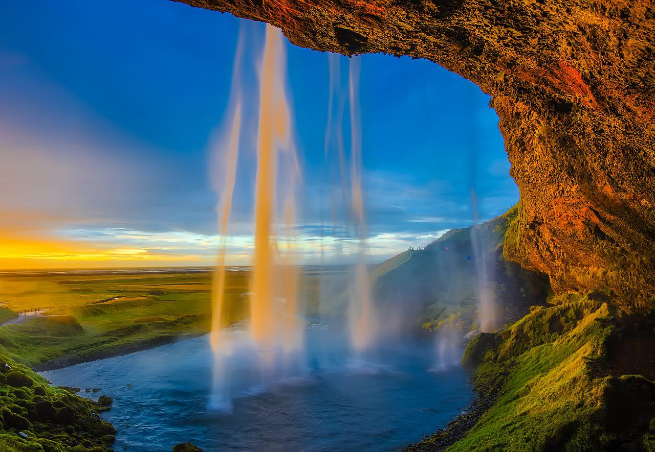Seljalandsfoss - Chute d'eau - Paysage Islande