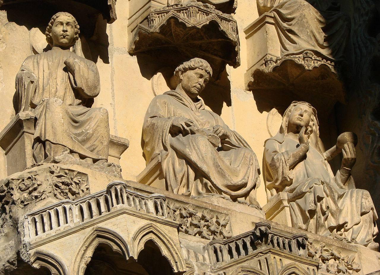Statues de la Cathédrale de Reims