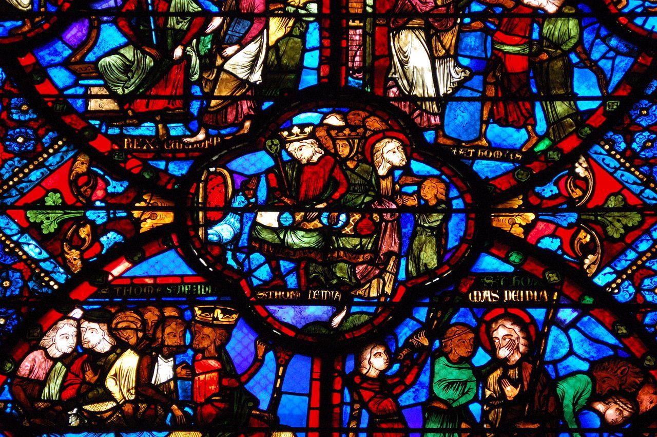 Les vitraux de la Cathédrale de Bourges
