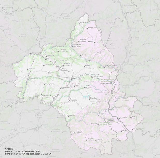 Aveyron carte