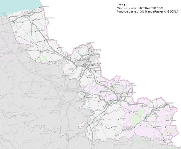 Carte du Nord