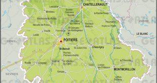 Carte de la Vienne (département 86)