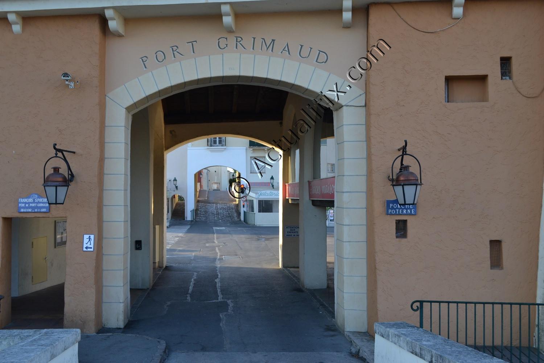 Entrée de Port Grimaud