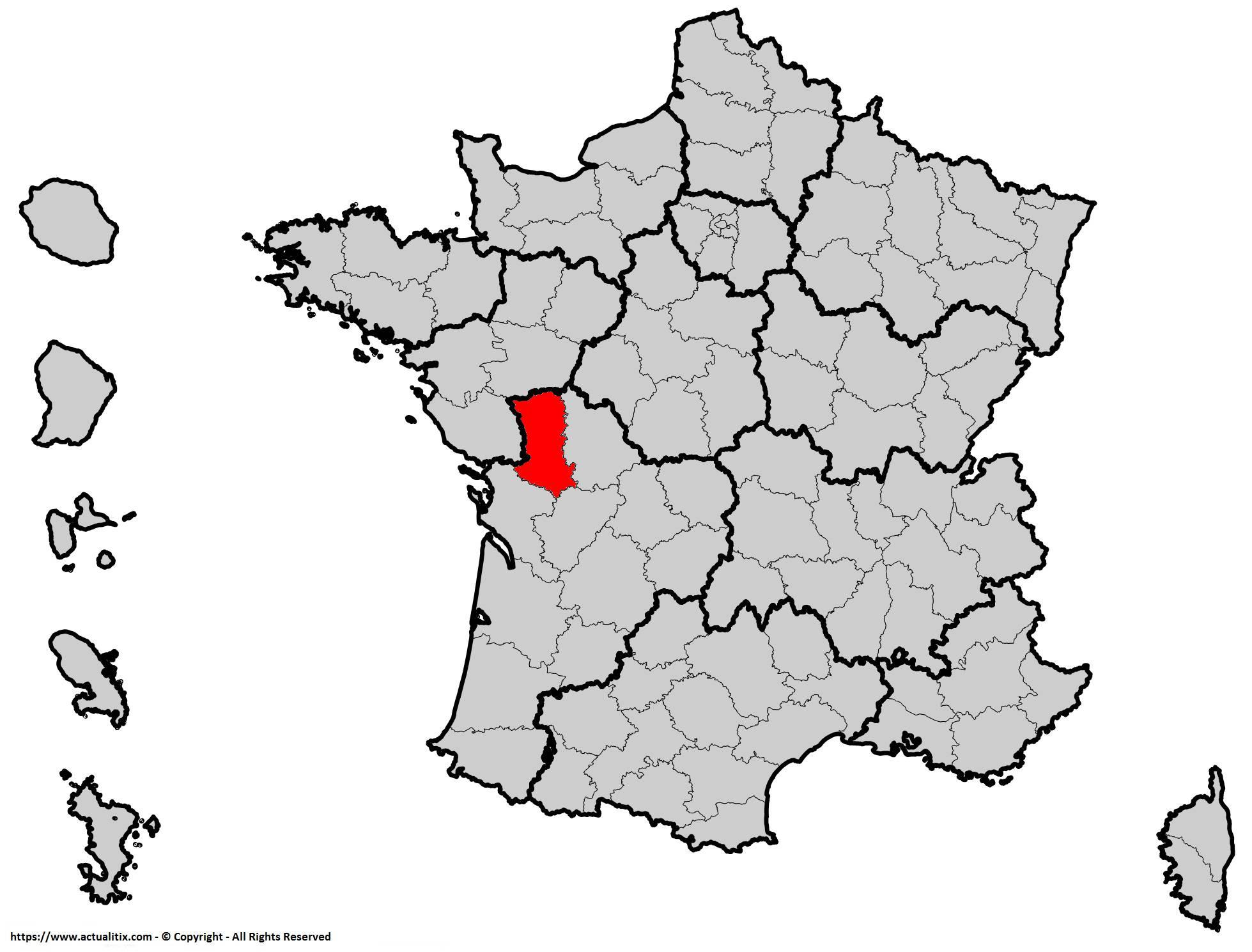 Où se trouve les Deux-Sèvres en France ? Département 79