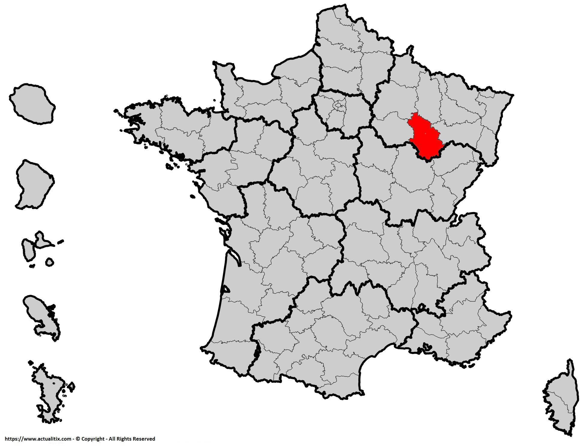 Où se trouve la Haute-Marne en France ? Département 52