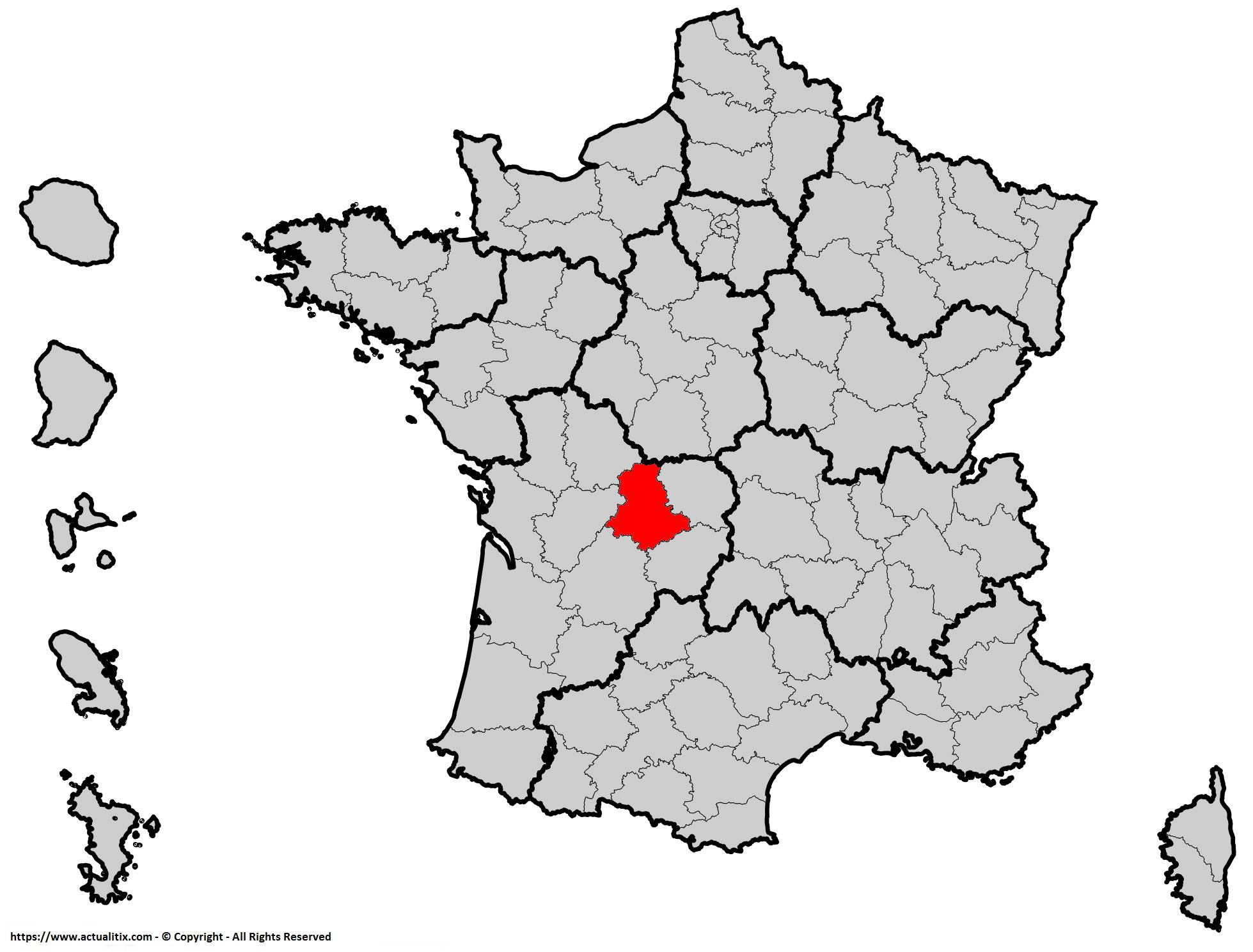 Où se trouve la Haute-Vienne en France ? Département 87