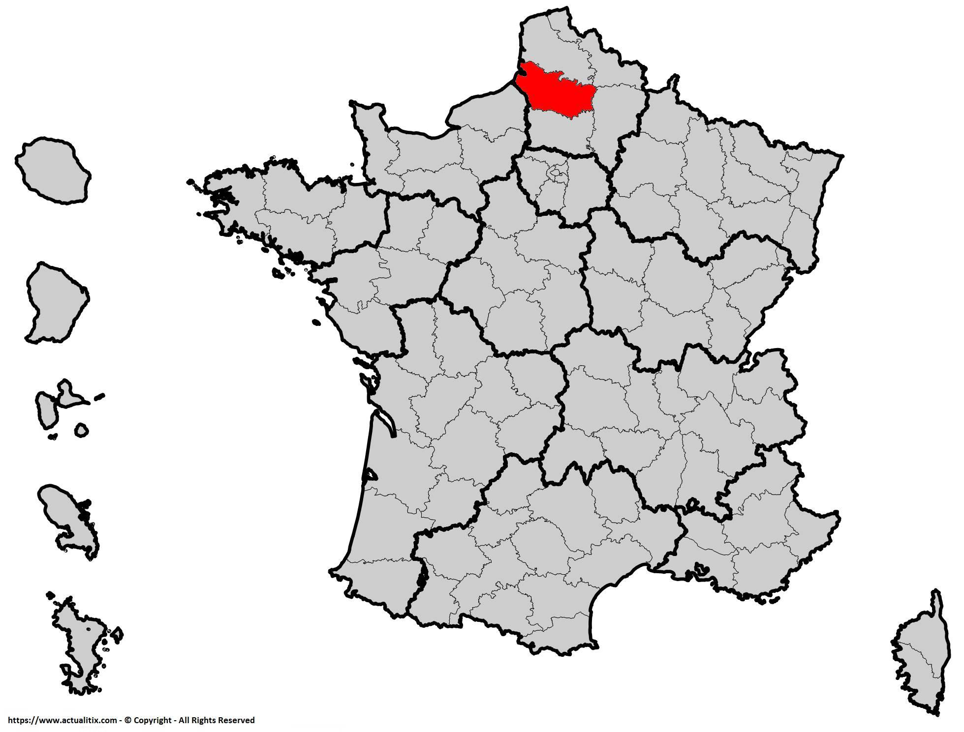 Où se trouve la Somme en France ? Département 80