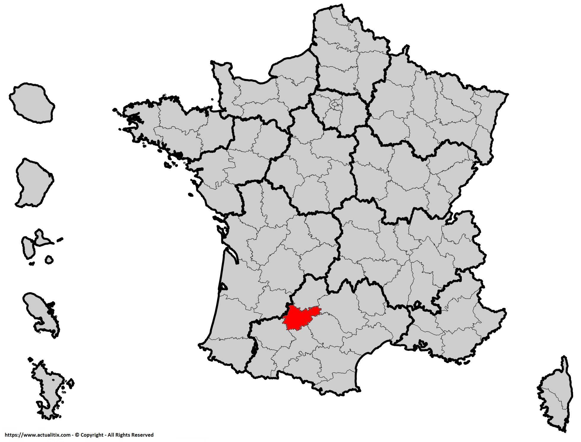 Où se trouve le Tarn-et-Garonne en France ? Département 82