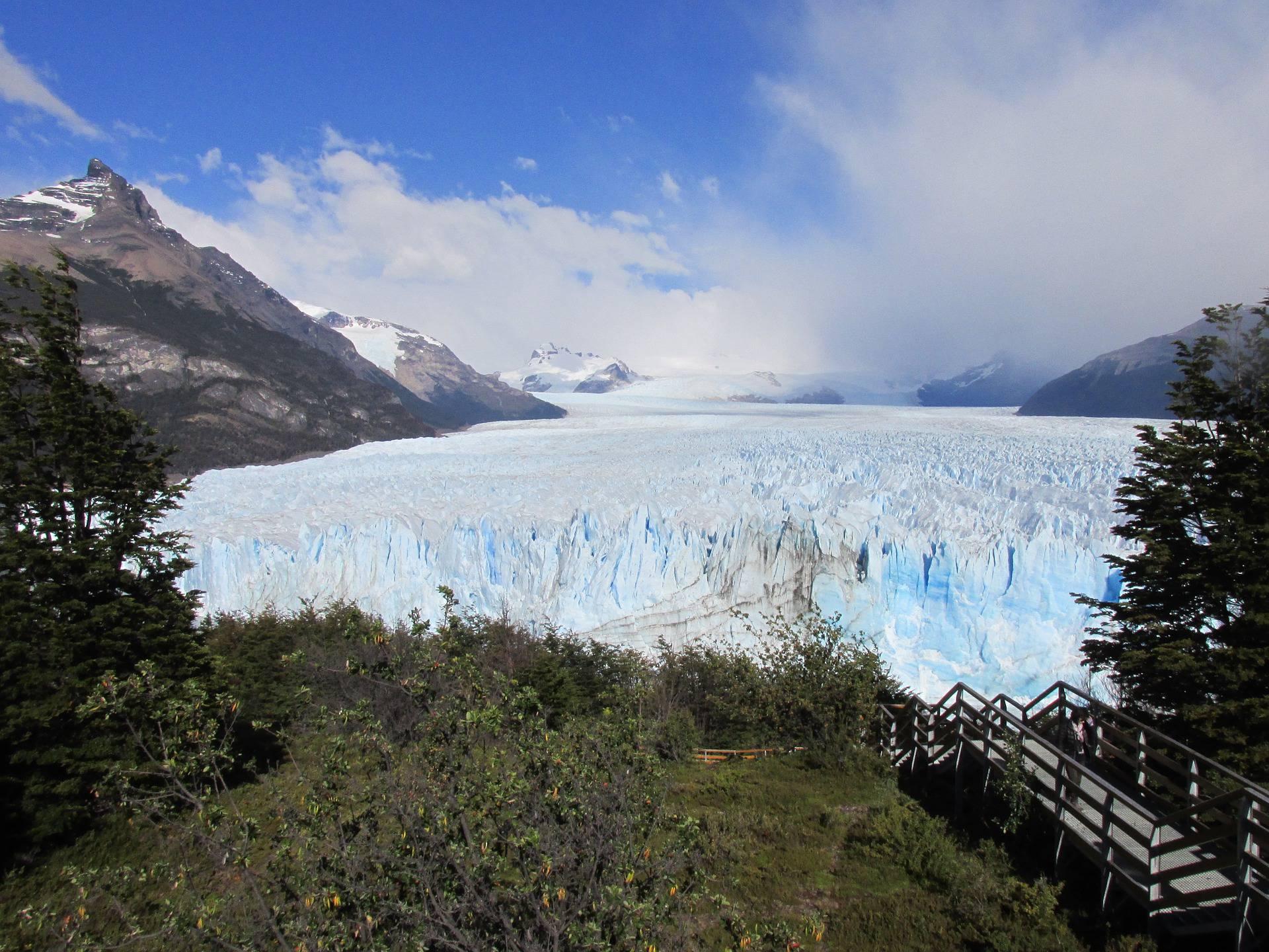 Accès au Glacier Perito Moreno
