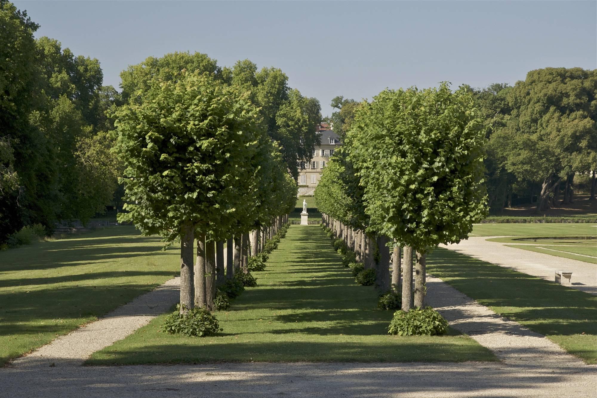 Allée du château de Chantilly