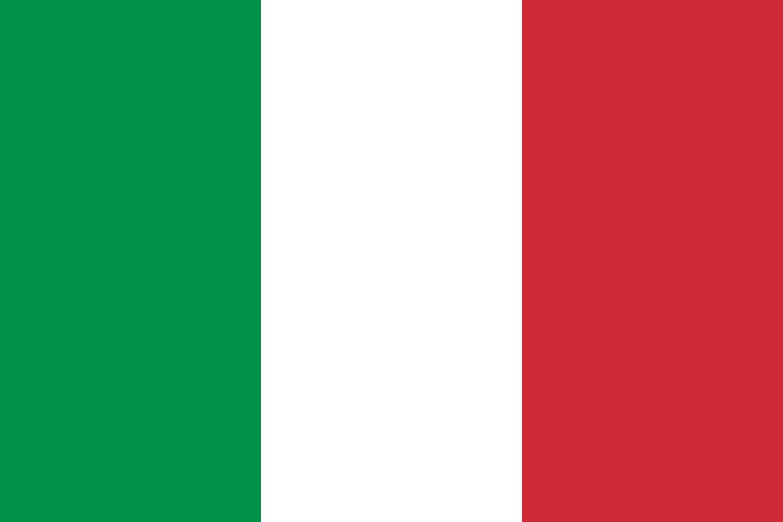 Autre drapeau de l'Italie