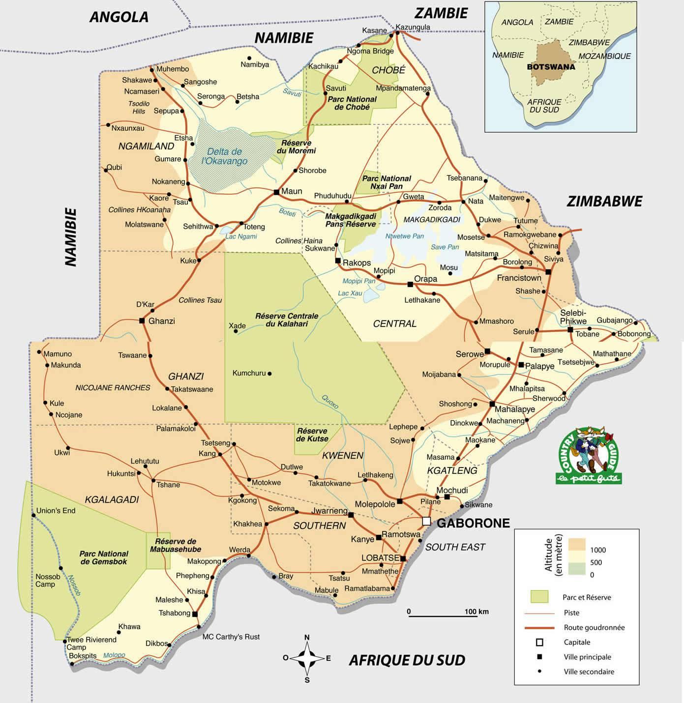 botswana-carte