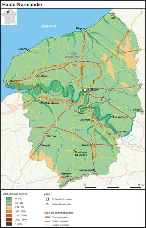 carte de la haute normandie plusieurs carte de la r gion