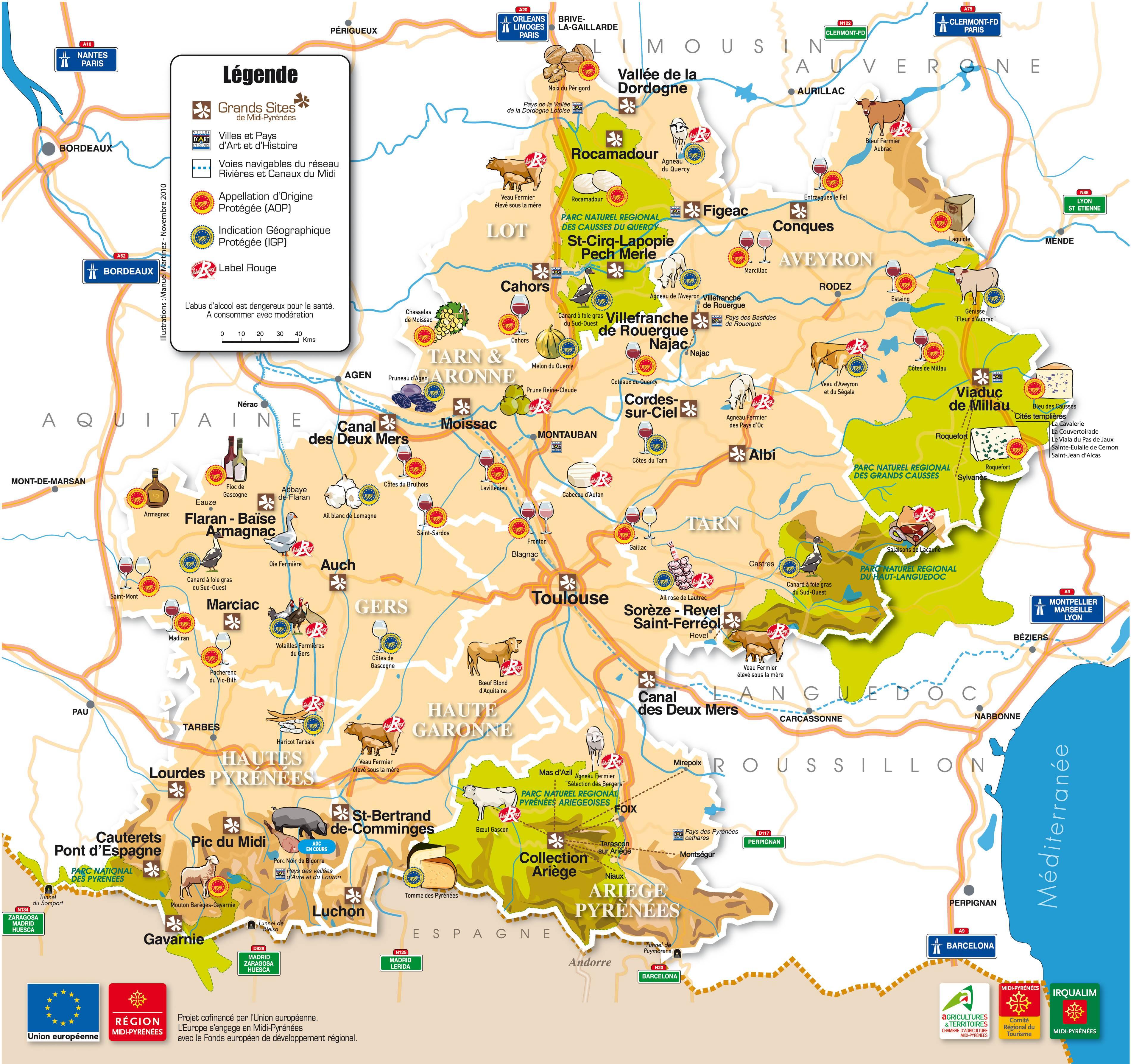 Armagnac région tourisme