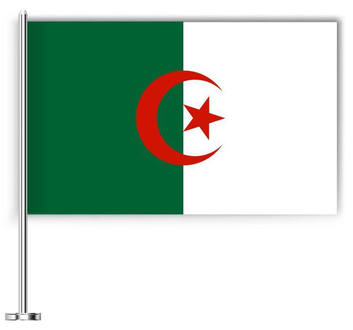 Drapeau joli de l'Algérie