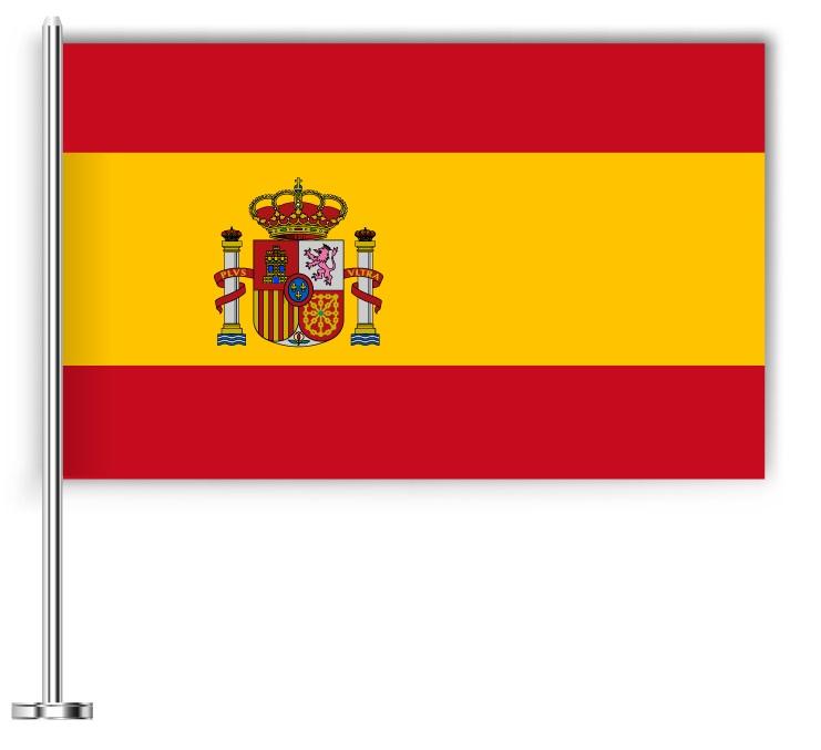 Drapeau de l 39 espagne d couvrez plusieurs drapeaux du pays - Drapeau d espagne a colorier ...