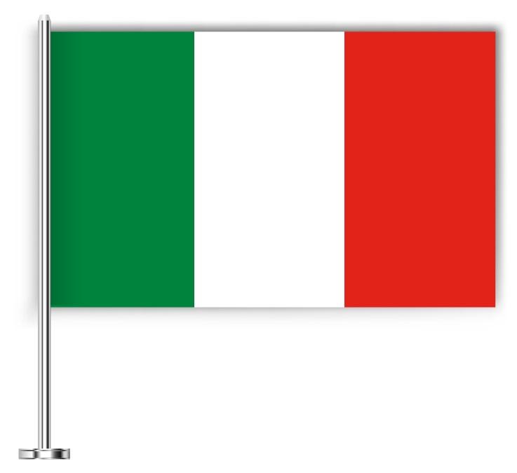 Drapeau joli de l'Italie