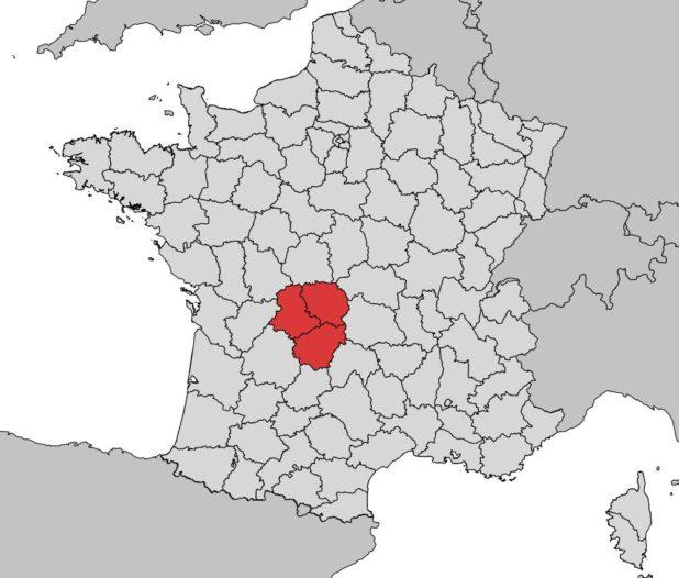 Emplacement du Limousin