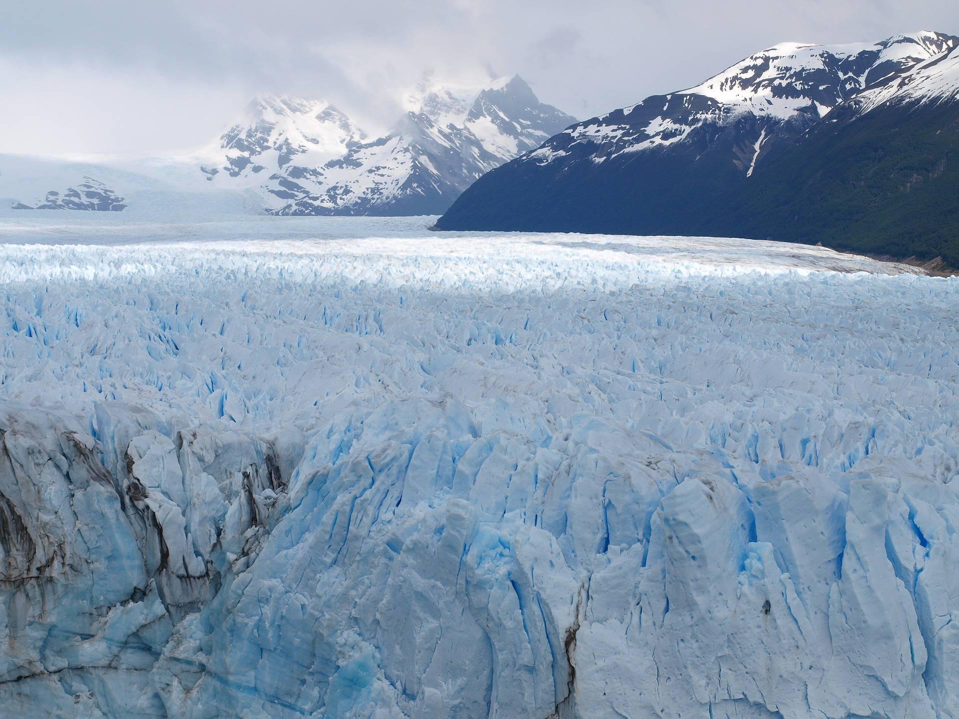 Glacier Perito Moreno vu du ciel