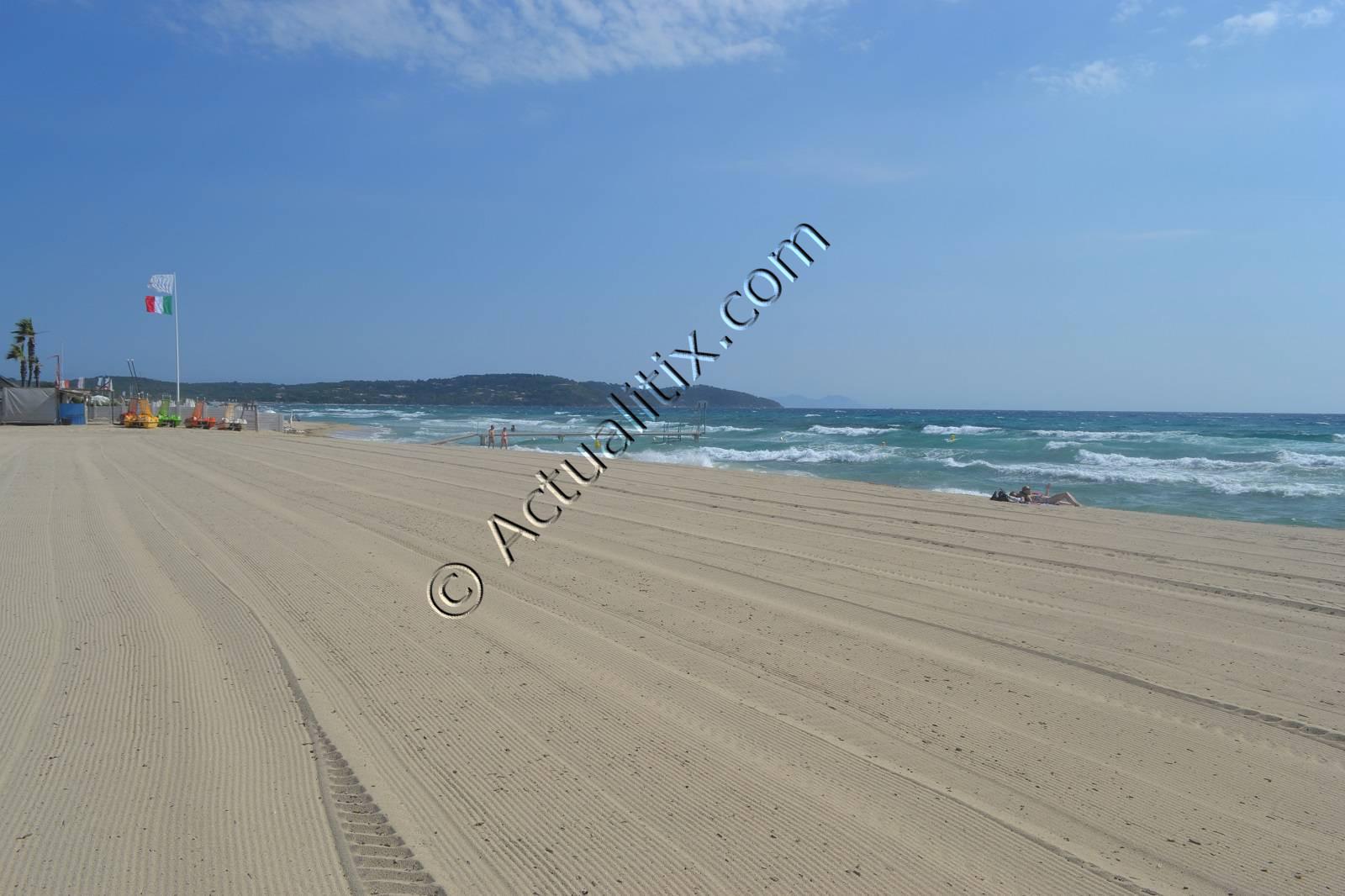 Grande plage de Pampelonne
