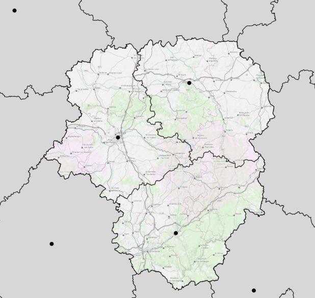 Limousin carte