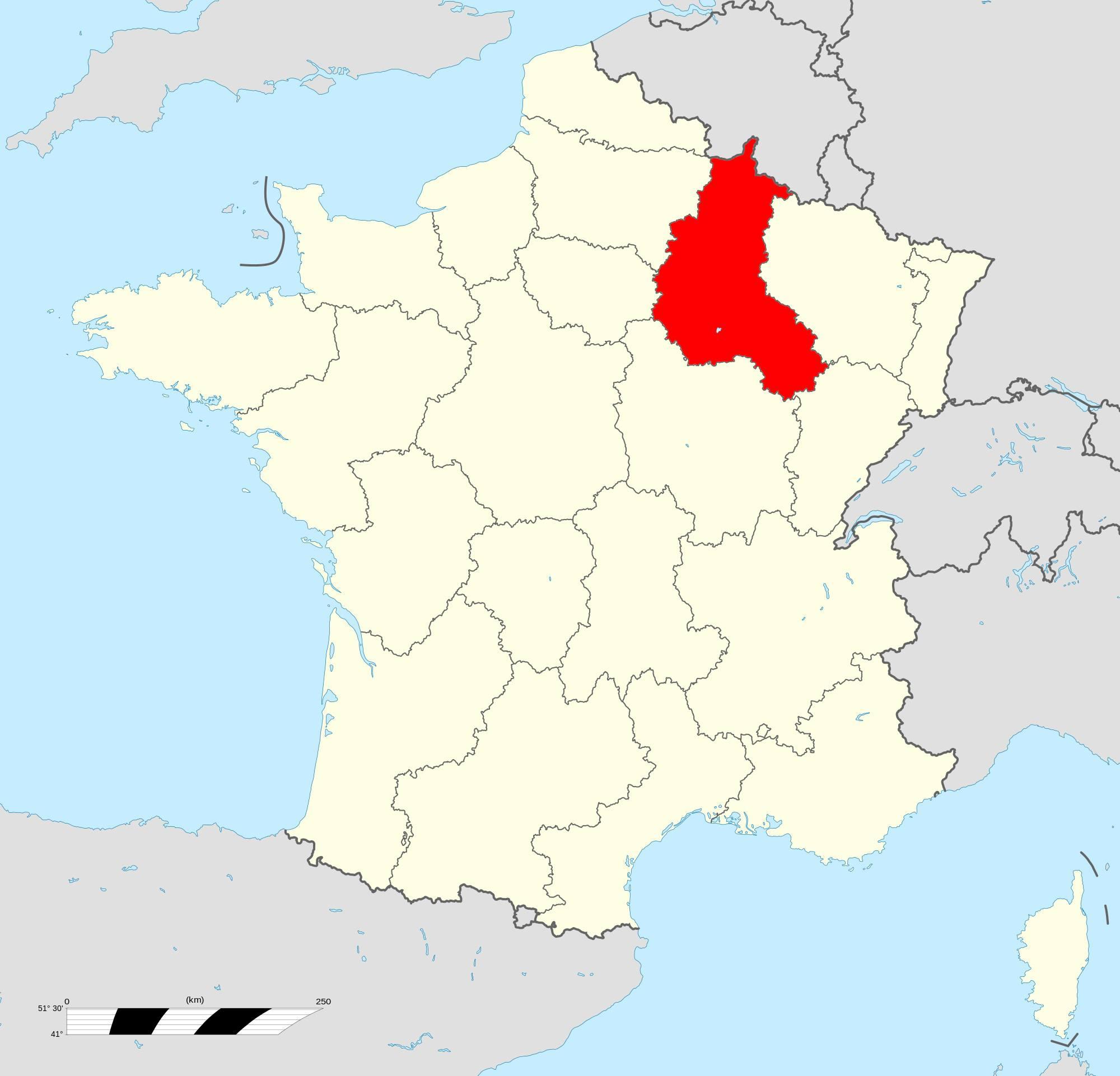 Où se trouve la Champagne-Ardenne ?