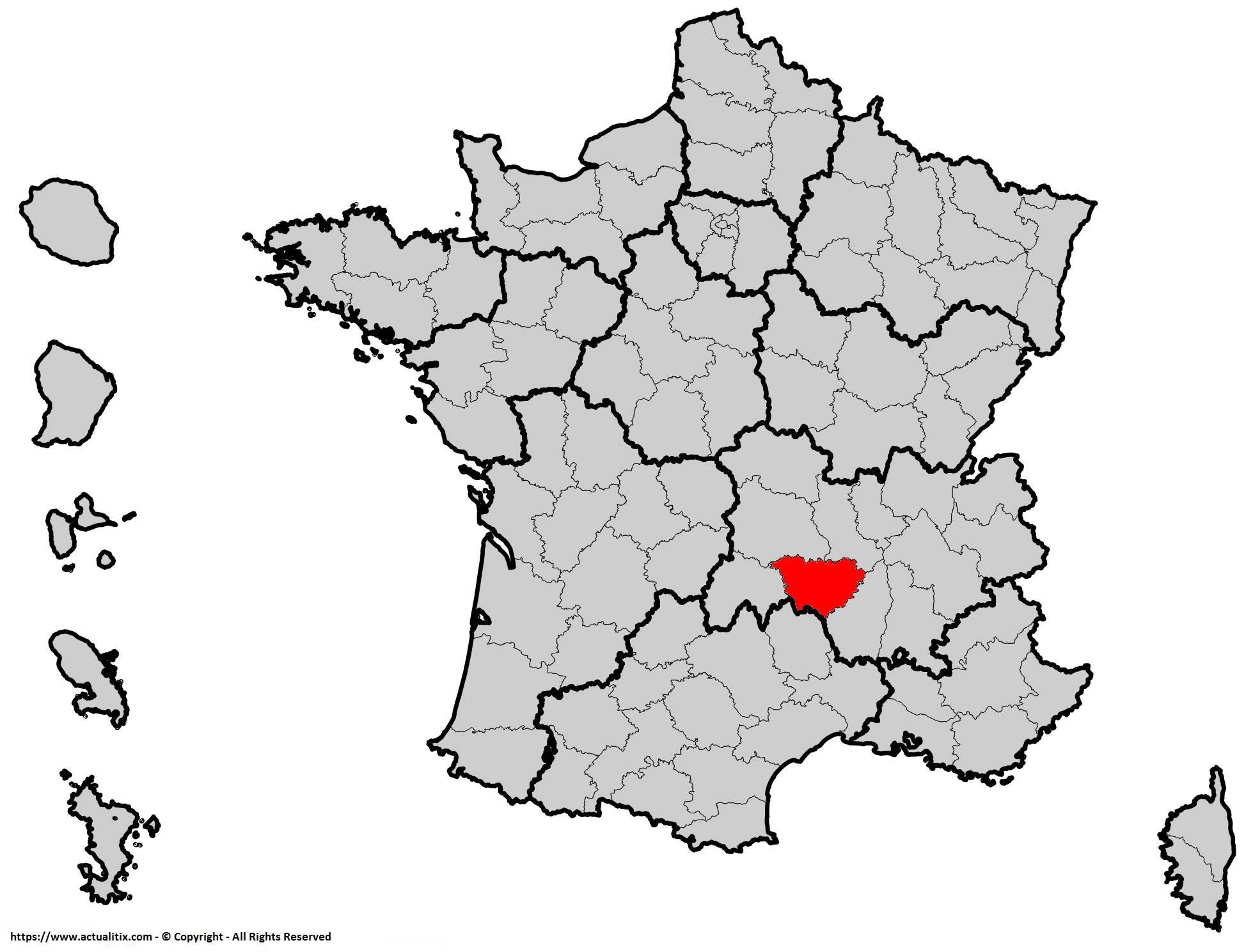 Où se trouve la Haute-Loire en France ? Département 43