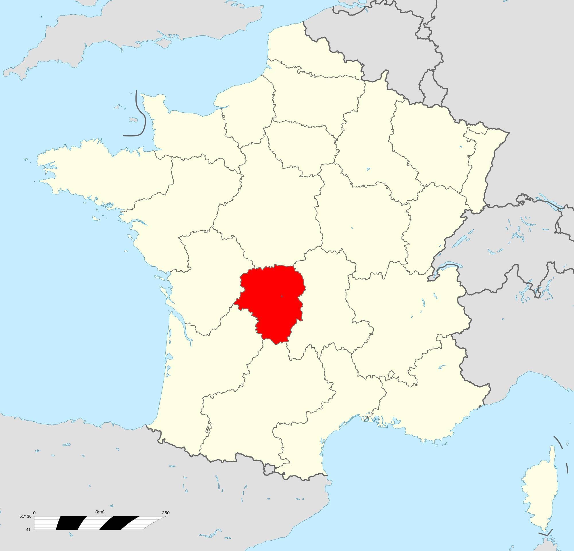 Où se trouve le Limousin en France ?