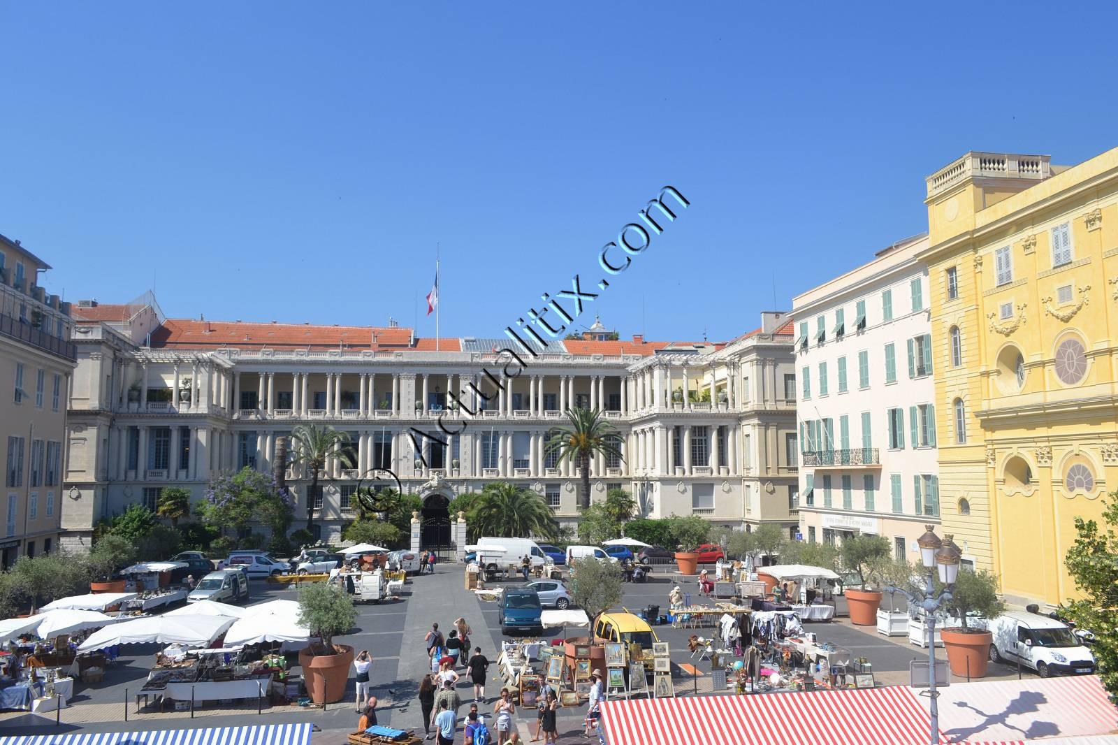 Palais de la préfecture dans le Vieux-Nice