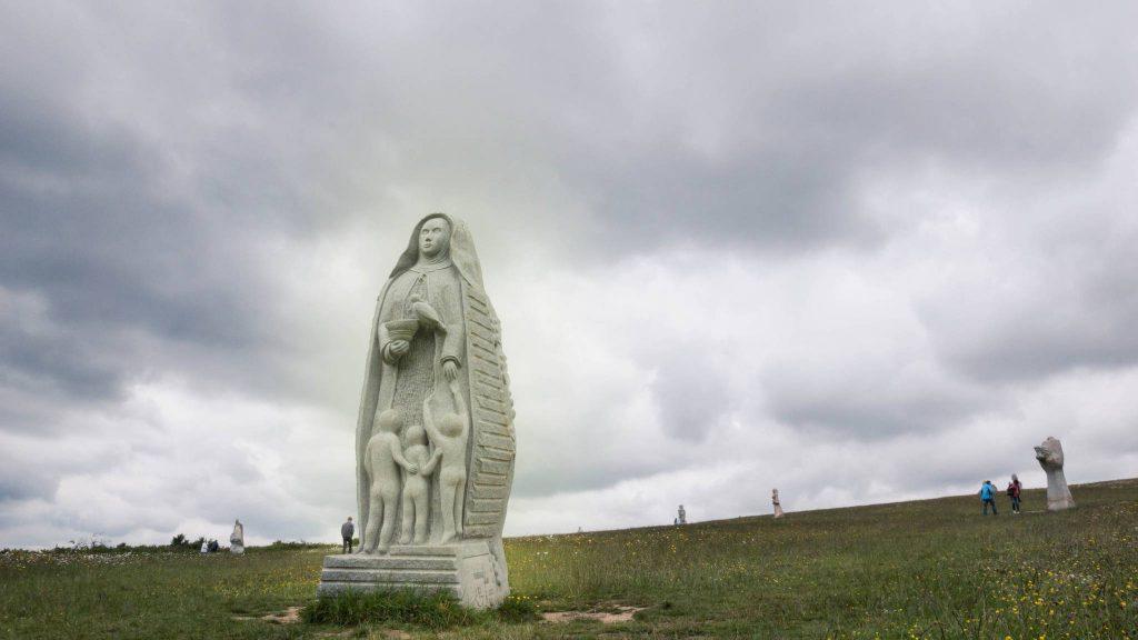 Paysage dans la vallée des Saints