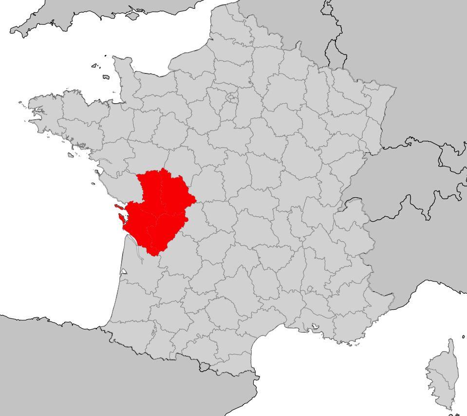 Carte Du Poitou Charentes Plusieurs Cartes De La Région En