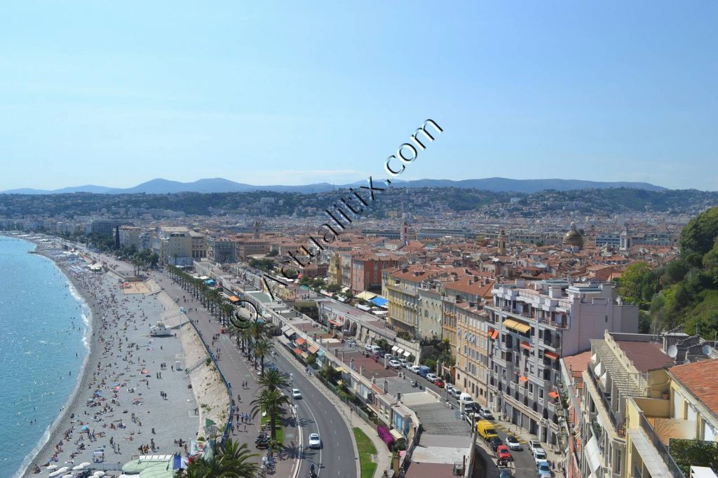 Promenade des Anglais et Vieux-Nice