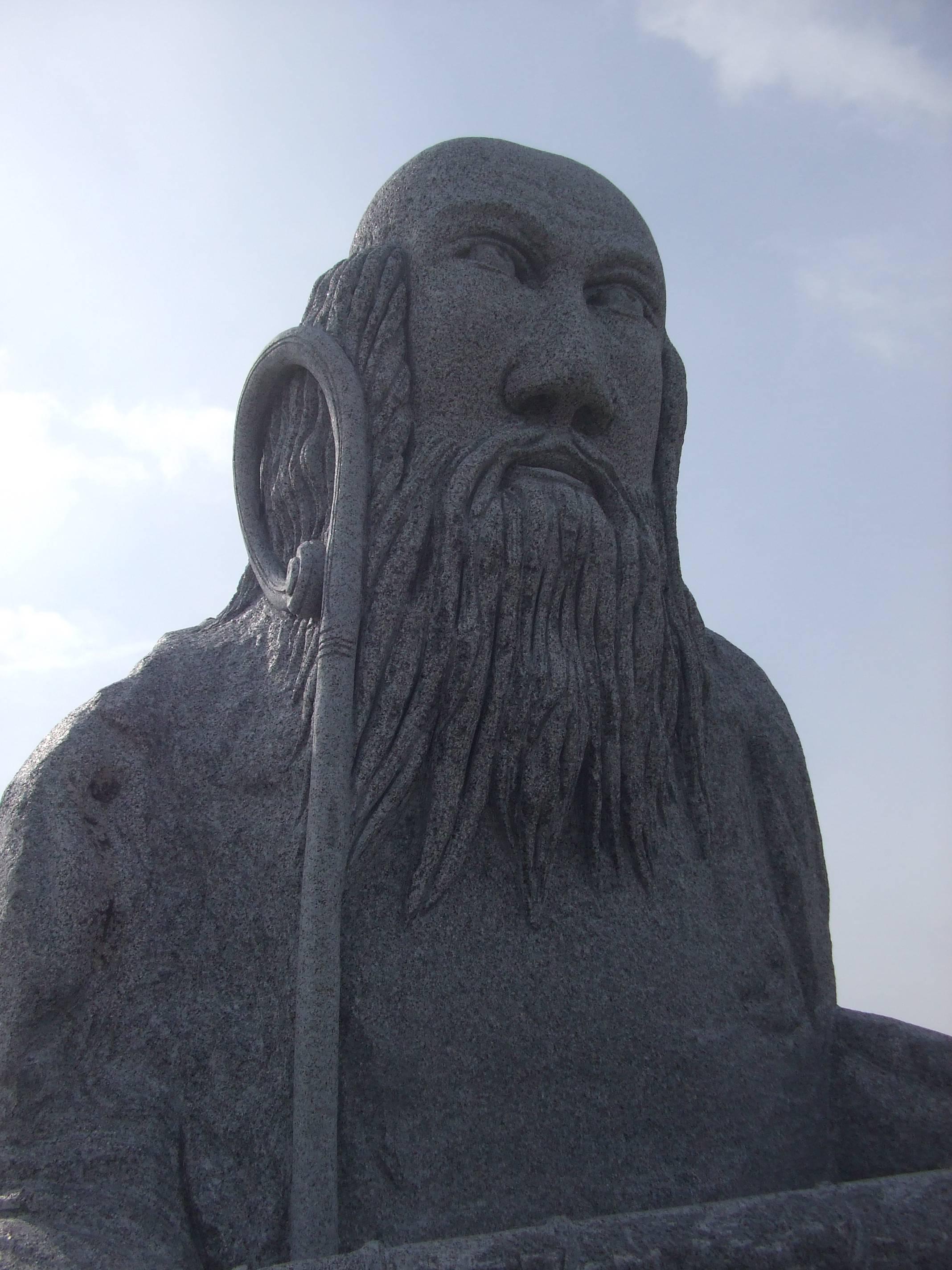 Statue dans la vallée des Saints