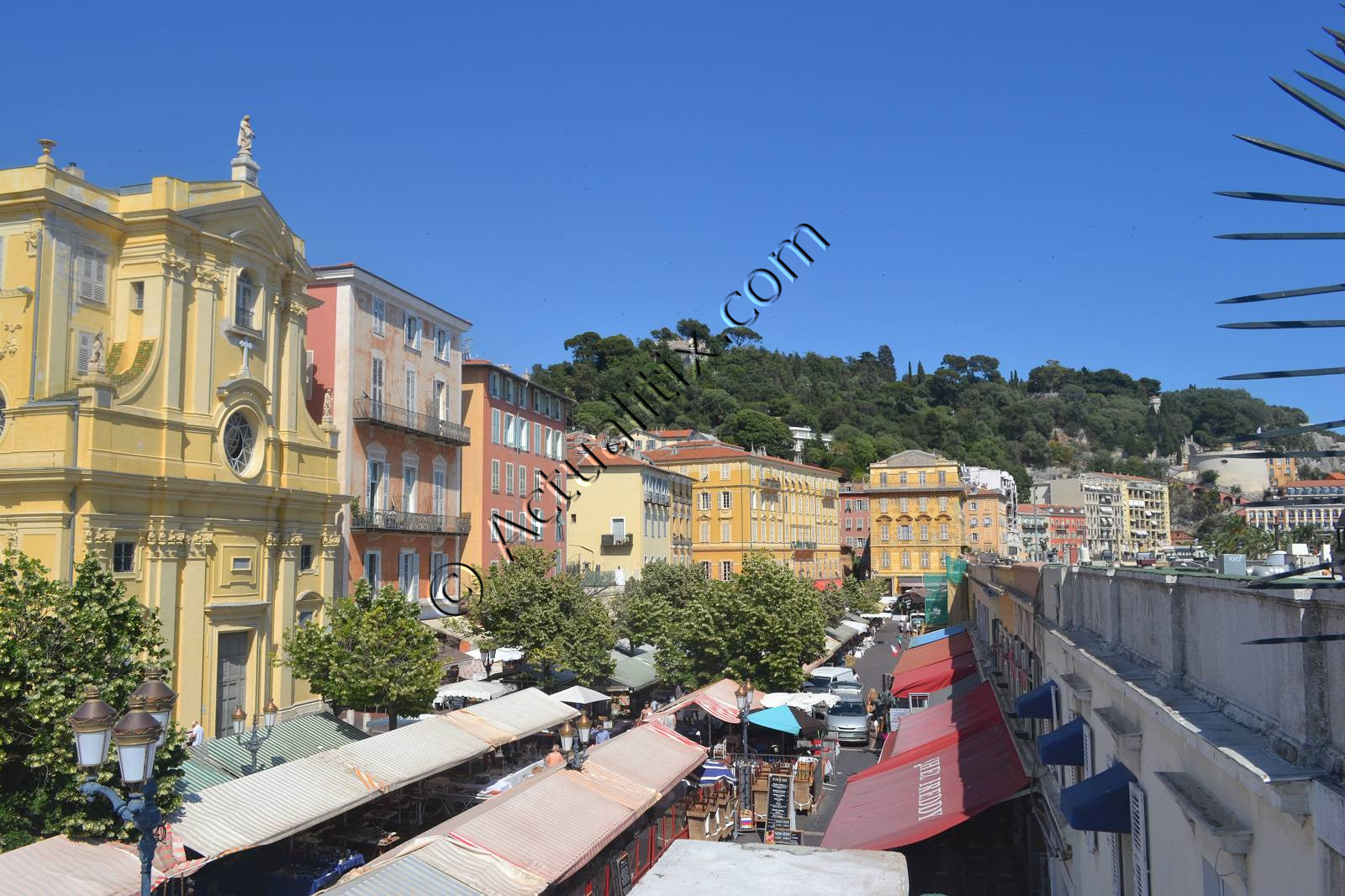 Vieux-Nice (vieille ville de Nice) et Cours Saleya