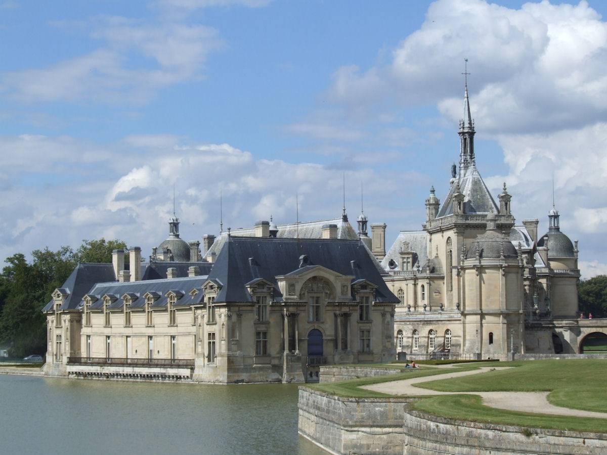 Autre vue du château de Chantilly