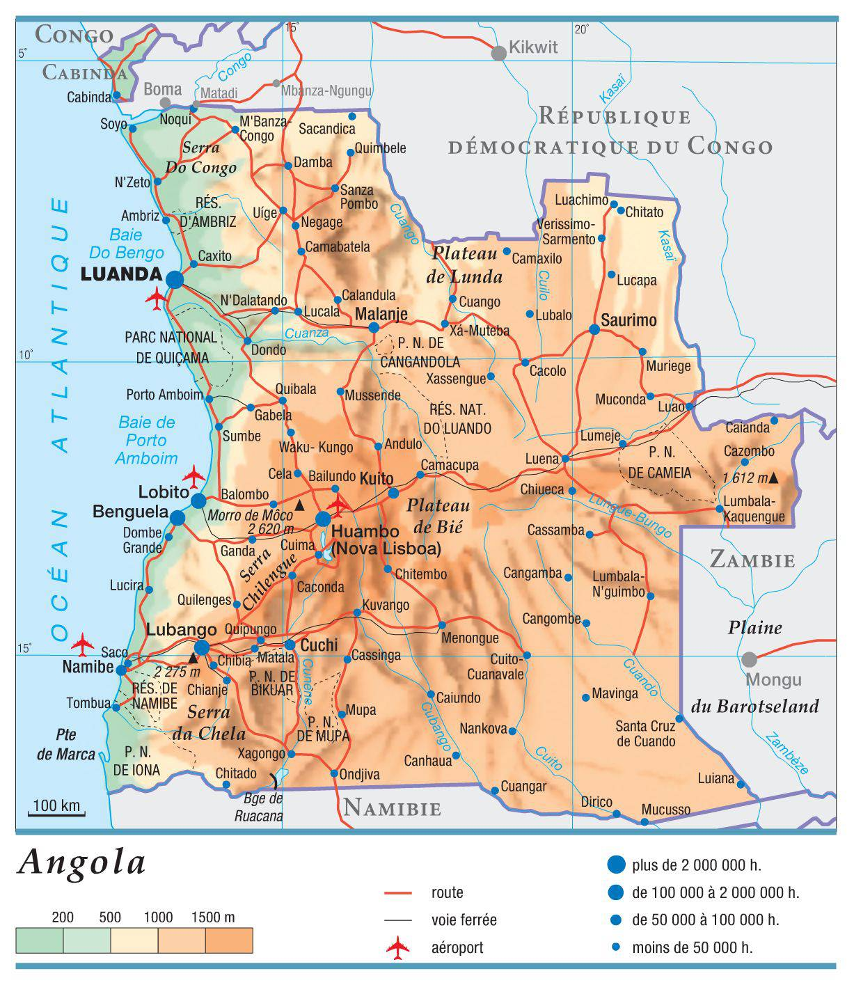 Photo of Carte de l'Angola