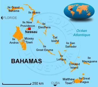 Cartes des Bahamas   Plusieurs cartes du pays en Amérique