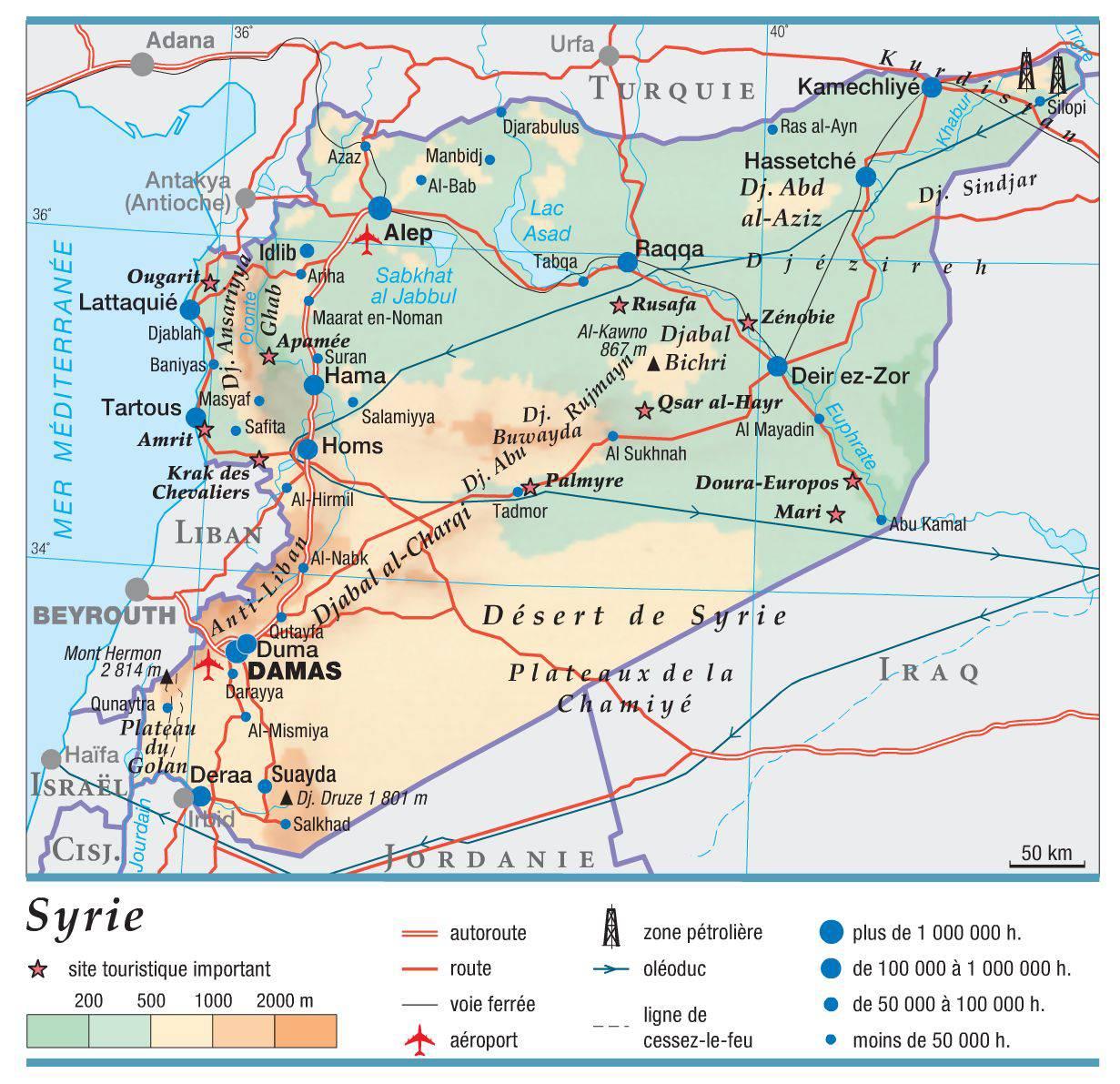 """Résultat de recherche d'images pour """"syrie carte"""""""